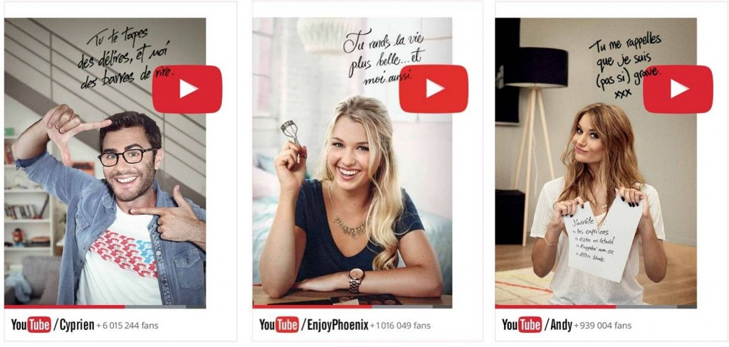 Campagne YouTube